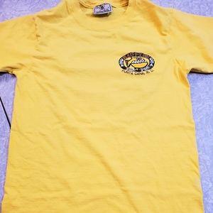 🤴👕 Punta Cana short sleeved Yellow T-shirt